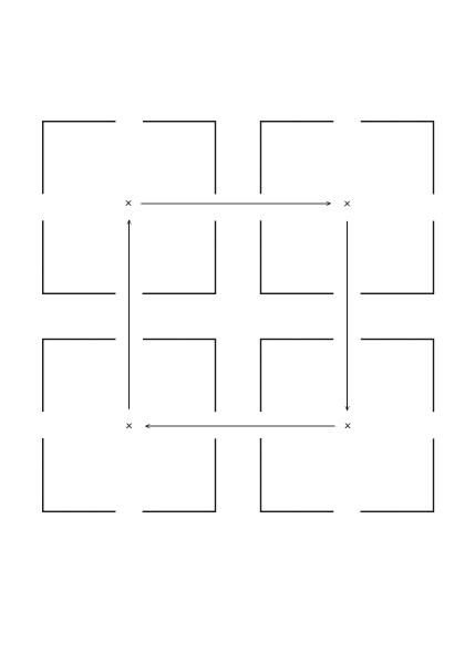 """""""Pièces fermées"""" - 6 dessins vectoriels, impression jet d'encre, 2012."""